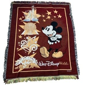 Disney World Mickey Mouse Blanket